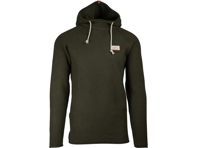 Amundsen Sports Boiled Ribbed Hoodie Men earth